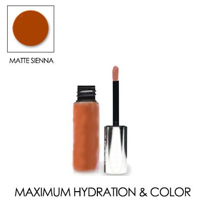 LIP INK Matte Moisturizing Lip Stain Trial Size 0.12 OZ./ 3.5 ML. (Matte Sienna)