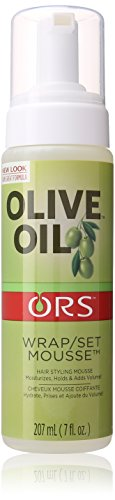 Organic Root Stimulator Olive Oil Hair Wrap Set, 7 Ounces