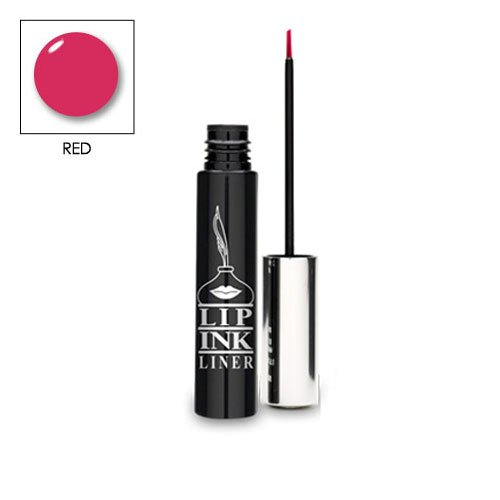 LIP INK Organic Vegan 100% Smearproof Lip Liner (Red)