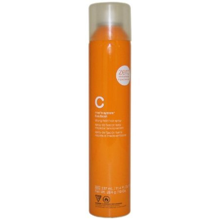 C-System Firm Finish Strong Hold Hair Spray Hair Spray Unisex by MOP, 11.4 Ounce
