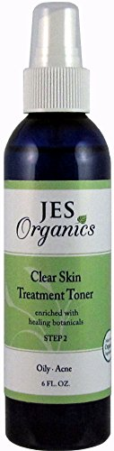 Treatment Toner-Acne Oily Skin Organic Infused Clear Skin