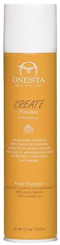 Onesta Create Finish Firm Hold Hair Spray, 10 Fluid Ounce