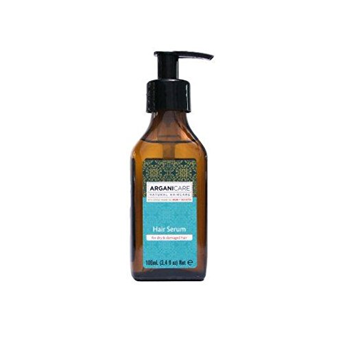 Arganicare Hair Serum For Dry & Damaged Hair Organic Argan Oil 100ml
