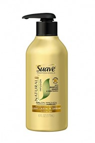 Suave Professionals Light Leave In Cream, Natural Infusion Ginger 6 oz