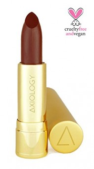 Axiology Organic and Natural Lipstick in BAD: Matte Brown Lipstick.