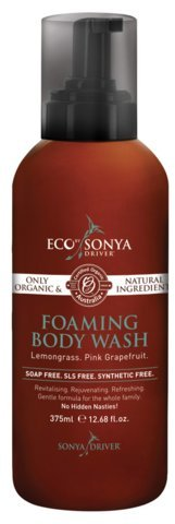 Eco Tan – Organic Lemongrass + Grapefruit Foaming Body Wash