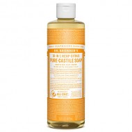 Organic Castile Liquid Soap Citrus Orange, 16 oz, Dr. Bronner's Magic Soaps