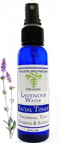 Alcohol Free Organic Lavender Face Toner & Setting Spray, Refines Pores, Hydrates Skin Facial Toner 2 FL OZ
