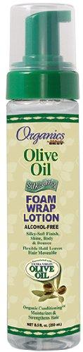 Africas Best Org Olive Oil Foam Wrap Lotion 8.5oz