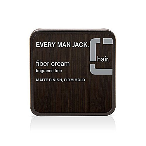 Every Man Jack Fiber Cream, Fragrance Free, 2.65 oz