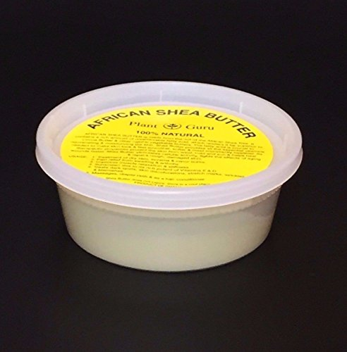 "Ivory African Shea Butter Pure Raw Unrefined 8 oz. From Ghana ""Container"""