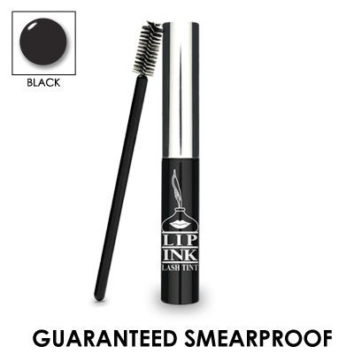 LIP INK Organic Vegan 100% Waterproof Lash Tint (Black)