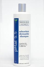 Seborrheic Dermatitis Shampoo, Best Scalp Treatment, Natural Organic Ingredients for Cleansing Hair by pH at 5.5 – Also for Seborrheic Keratosis (16oz)