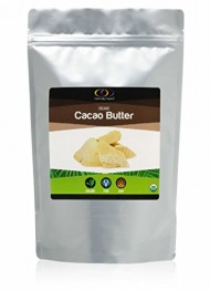 Raw Organic Cacao Butter (1lb)