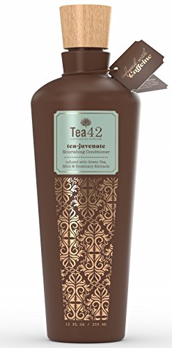 Tea42's Tea-Juvenate Nourishing Conditioner with Organic Green Tea Extract – Sulfate-, Paraben & Cruelty-Free – Safe & Gentle for Most Hair Types