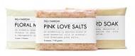 FIG+YARROW – Organic Bath Trio (Pink Love Salts/Floral Milk Bath/Mustard Soak)
