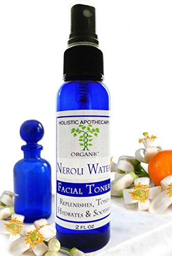 Organic NEROLI BLOSSOM Anti – Age Facial Toner With Spray Atomizer 2 FL OZ Natural Face Toner