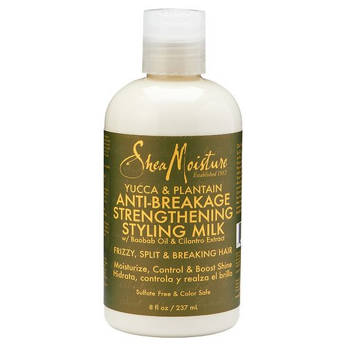SheaMoisture Yucca & Plantain Anti-Breakage Strengthening Styling Milk 8 oz