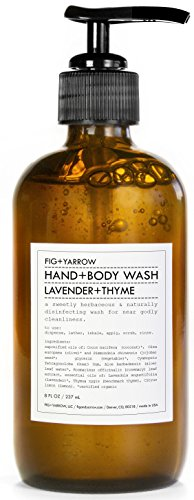 FIG+YARROW – Organic Hand+Body Washes (Lavender+Thyme)