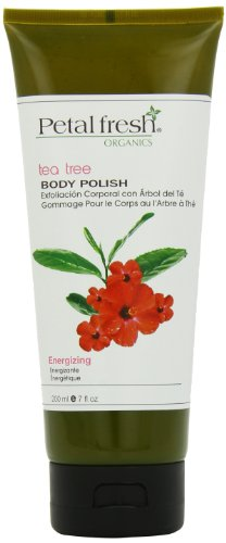 Bio Creative Lab Petal Fresh Organic Body Polish, Tea Tree, 7 Fluid Ounce