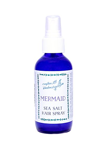 Captain Blankenship – Organic Mermaid Sea Salt Hair Spray (2 oz)