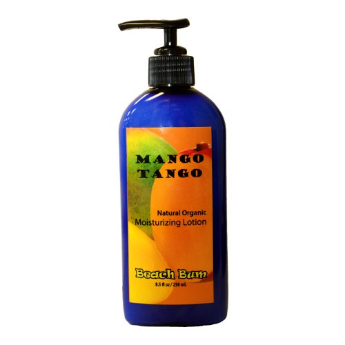Natural Organic Lotion – Mango Tango – 8.5 oz – Ships FREE!