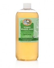 Oregon Soap Company – Oregon Double Mint, USDA Certified Organic Liquid Castile Soap (32 oz)