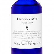Lavender and Aloe Vera Balancing Organic Facial Toner with Wild Blueberry – Clarifying, Balancing, and Oil-Controlling 8.5 oz Refill