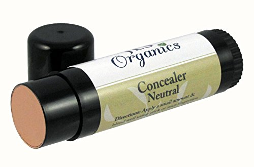 Concealer-Neutral Roll-Up Stick Organic Infused, Natural Paraben Free-Non-Toxic