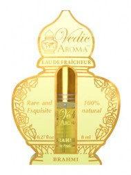 Brahmi – Vedic Aroma Royal Collection Rare and Exquisite 100% Certified Organic Eau de Fraicheur – a Feeling of Living in Heaven