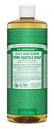 Dr. Bronner's Magic Soaps 18-in-1 Hemp Pure-Castile Soap Almond 32 fl oz