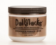 "Dollylocks 4oz Dreadlock ""Beeswax Alternative"" Pomade – Dark"