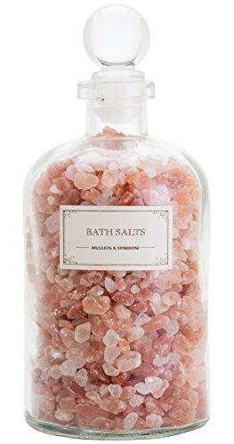 Mullein & Sparrow – Organic Pink Himalayan Bath Salts (18 oz)