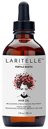 Laritelle Organic Hair Loss Treatment for Men & Women 4 oz | Fortifying, Strengthening & Rejuvenating Follicle Fuel | Stops Hair Shedding, Promotes New Hair Growth | GMO-free. Vegan