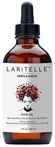 Laritelle Organic Hair Loss Treatment for Men & Women 4 oz | Fortifying, Strengthening & Rejuvenating Follicle Fuel | Stops Hair Shedding, Promotes New Hair Growth | GMO-free. Vegan
