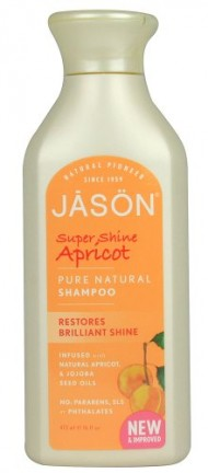 JASON Super Shine Apricot Shampoo, 16 Ounce Bottles (Pack of 3)