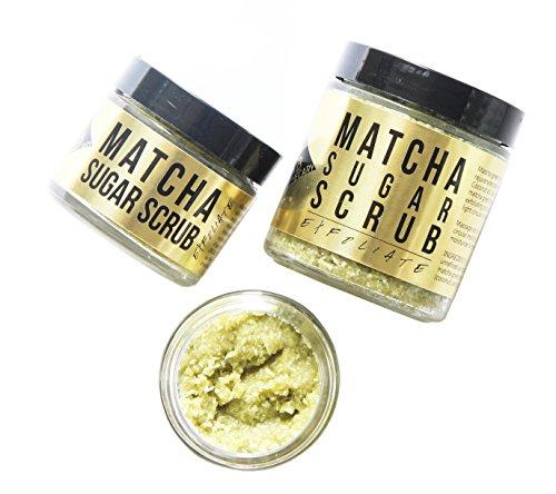 URB APOTHECARY – Organic Matcha Sugar Face + Body Scrub