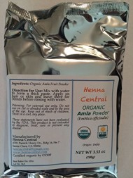 Organic Amla Powder for External Use Only