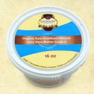 Authentic Organic IVORY Shea Butter FILTERED & CREAMY 16 Oz – The Highest Quality Butter (Pack of 4)