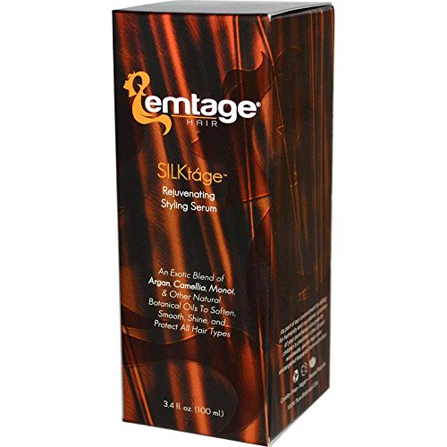 Emtage Silktage Rejuvenating Styling Serum Organic 3.4 Oz.