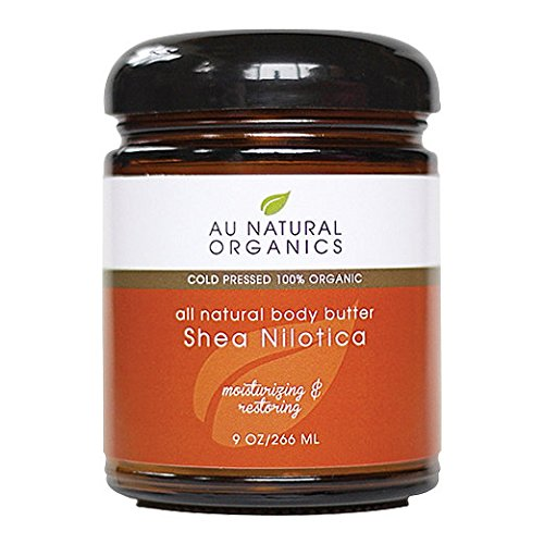 Au Natural Organics Shea Nilotica Butter 9 Oz | 266 Ml