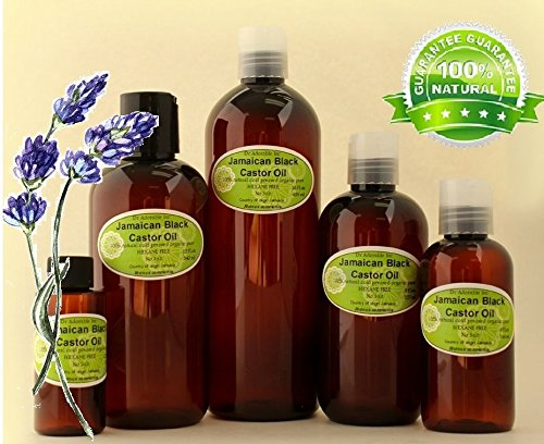 Lavender Jamaican Black Castor Oil Natural Pure Organic Strengthen Grow & Restore Hair Care 2.2 oz