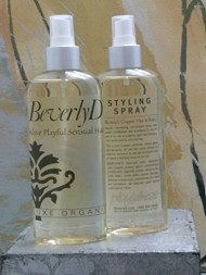 BeverlyD PLAYFULNESS Luxe Organic Hair Styling Spray