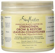 SheaMoisture Jamaican Black Castor Oil Reparative Leave-In Conditioner – 16 oz