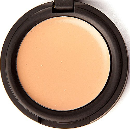 Concealer Cream for Under Eye & Face Makeup – All Natural, 88% Organic, Vegan, Gluten Free, No Cruelty, No Toxic Chemicals, Safe for Sensitive Skin, Light to Medium Cool, Pink Undertones, Bare Naked
