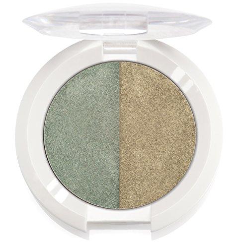 Ere Perez – Natural Creative Chamomile Eyeshadow Duo (Green & Grin)