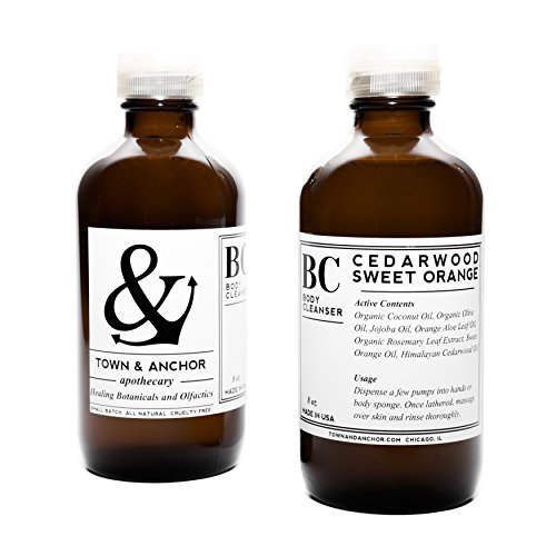 Town & Anchor – Organic Herbal Body Cleanser (Cedarwood Sweet Orange)