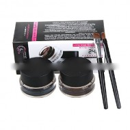 Thinkmax Perfect Waterproof Long Lasting Soft Smooth Double Color Eyeliner Black and Brown