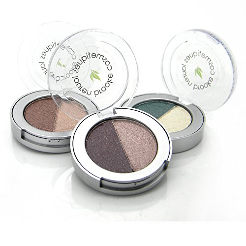 Lauren Brooke Cosmetiques Pressed Eyeshadow Duos (Toffee/Sandalwood)