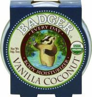 Badger Vanilla Coconut Every Day Moisturizer